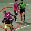 Espulso, ammolla calcio avversario davanti arbitro2