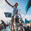 Liz Clark e la sua gattina in barca in giro per il mondo FOTO 9