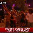 YOUTUBE Usa, Trump trionfa a Washington, scontri al comizio 7