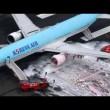 Jet Korean Air, motore a fuoco: paura a bordo2