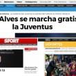 Calciomercato Juventus, Dani Alves bianconero per tre anni_