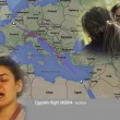 YOUTUBE Egypt Air precipitato: striscia fuoco in cielo VIDEO01