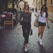 Elena Santarelli in forma dopo parto: scollatura su Instagram 4