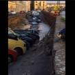 Firenze, voragine su Lungarno: 20 auto inghiottite FOTO6
