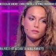 "Domenica Live, Francesca De Andrè contro Diaco: ""Dici..."""