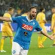 Serie A, Higuain leggenda. Omaggio a Carpi e Frosinone