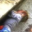 YOUTUBE Bimbo cade in gabbia Gorilla. Reazione animale... 03