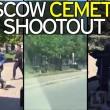 Maxi-rissa tra immigrati al cimitero Mosca4