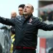 """Cristian Brocchi """"piange"""" durante Milan-Frosinone: FOTO"""