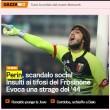 La notizia sul sito della Gazzetta dello Sport