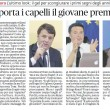 """Matteo Renzi, barbiere: """"Usa il gel per scongiurare..."""" 01"""