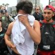 San Diego, scontri al comizio di Donald Trump: arresti FOTO04