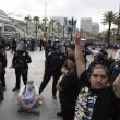 San Diego, scontri al comizio di Donald Trump: arresti FOTO15