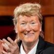 Meryl Streep imita Trump: pancione e cravatta rossa 7