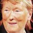 Meryl Streep imita Trump: pancione e cravatta rossa 5