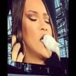 Rihanna piange interrompe concerto e scende dal palco3