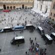 Salvini a Bologna, scontri centri sociali polizia 09