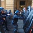 Salvini a Bologna, scontri centri sociali polizia 15