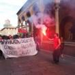 Salvini a Bologna, scontri centri sociali polizia 13