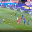 Bodvarsson VIDEO gol Islanda-Austria 1-0