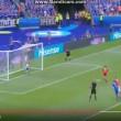 Dragovic VIDEO rigore sbagliato in Islanda-Austria 1-0