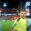 Suonano l'inno del Cile in campo c'è l'Uruguay3