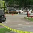 Ultraleggero si schianta su parcheggio a Houston, 3 morti4
