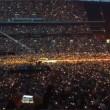 VIDEO Alessia Marcuzzi si scatena al concerto dei Coldplay a Londra 5