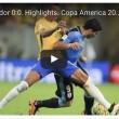 Brasile-Ecuador 0-0: highlights Coppa America 2016