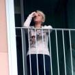 Francesca Pascale piange durante operazione Berlusconi 02