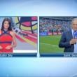 Ilaria D'Amico: l'Italia batte la Spagna e lei festeggia così FOTO