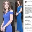 Kate Middleton in blu catalizza le attenzioni alla cena per il quarantesimo anniversario di SportsAid, associazione benefica che aiuta i giovani atleti a raggiungere il successo 3
