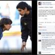 Maradona a Messi: non lasciare l'Argentina, in Russia sarai campione del mondo