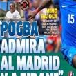 """Pogba verso i blancos. Mino Raiola apre la trattativa: """"Per Paul, Zidane ed il Real Madrid da sempre rappresentano qualcosa di speciale: li ammira""""..."""