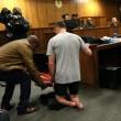 YOUTUBE Oscar Pistorius in Tribunale senza protesi FOTO 2