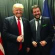 """Trump: """"Salvini chi? Mai incontrato"""". Lui porta le prove"""