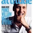 Principe William sulla copertina della rivista gay Attitude FOTO 2