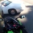 Finisce contro auto ad un incrocio4