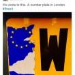 Brexit, automobilisti cancellano stelle dorate Ue dalle targhe4