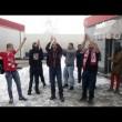Capo ultras CSKA Sofia, matrimonio con fumogeni e cori da stadio2