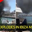 Ibiza, yacht prende fuoco durante rifornimento: 2 feriti gravi6