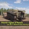 Incendio nel bosco, l'esercito russo lo spegne1