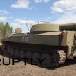 Incendio nel bosco, l'esercito russo lo spegne2