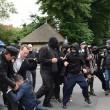 Londra, anarchici protestano davanti casa di Boris Johnson3