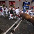 YOUTUBE Pamplona: prima corsa tori, 4 feriti 4