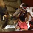 YOUTUBE Pamplona: prima corsa tori, 4 feriti 2