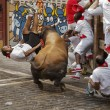 YOUTUBE Pamplona: prima corsa tori, 4 feriti 10