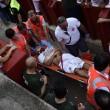 YOUTUBE Pamplona: prima corsa tori, 4 feriti 8