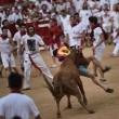 YOUTUBE Pamplona: prima corsa tori, 4 feriti 7
