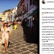 Camila Raznovich in barca a Ponza e... FOTO 3